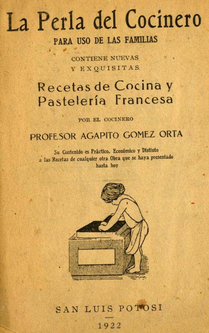 La Perla del Cocinero 1922